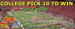 College Pick 10 To Win $100