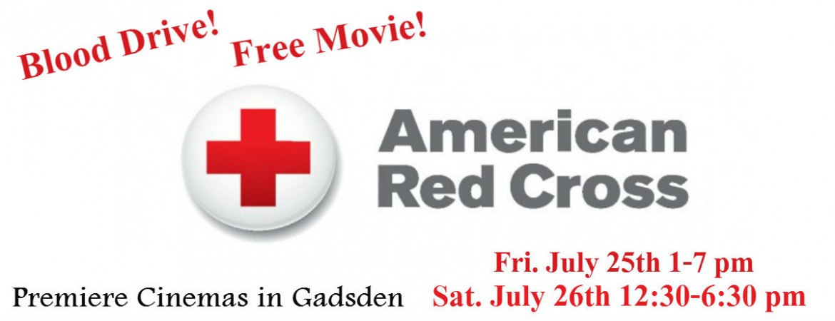 WQSB-American Red Cross Summer Blood Drive