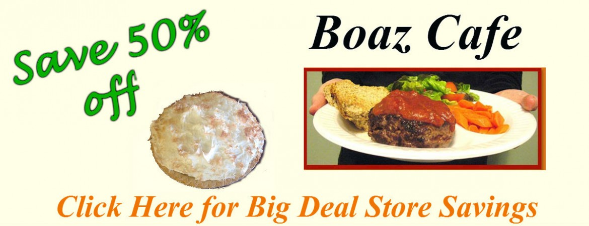 Big Deal Store: Boaz Cafe