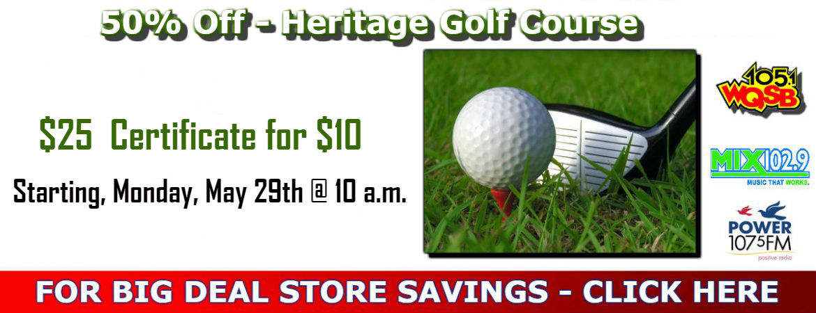 Big Deal Store - Heritage Golf