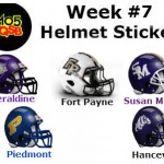 7 helmet sticker