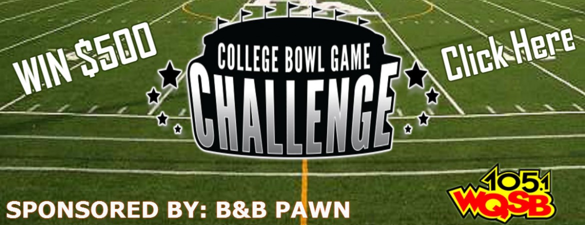 College Bowl Game Challenge 2016