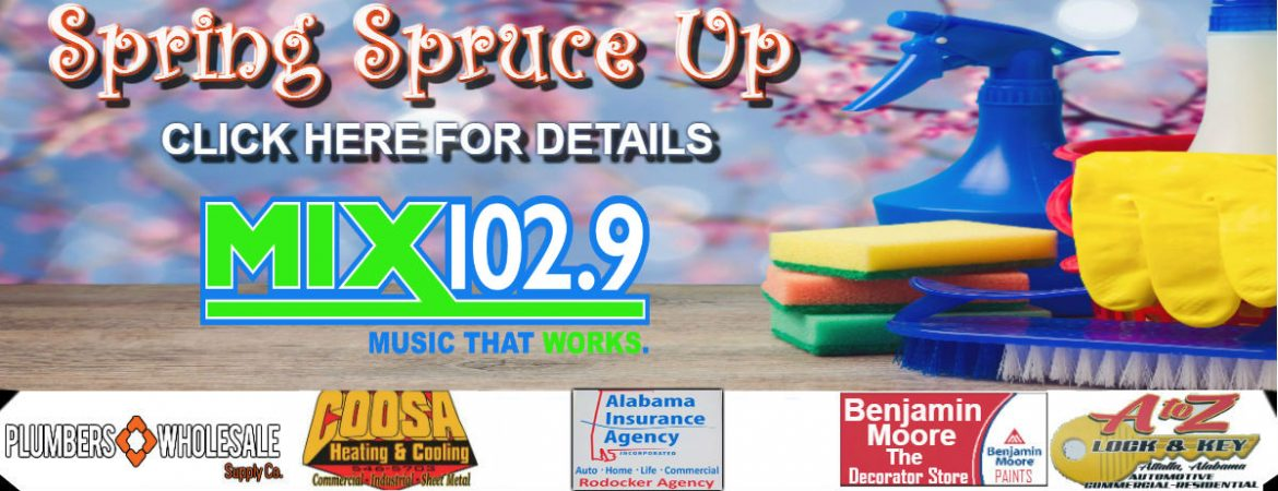 MIX 102.9 Spring Spruce Up