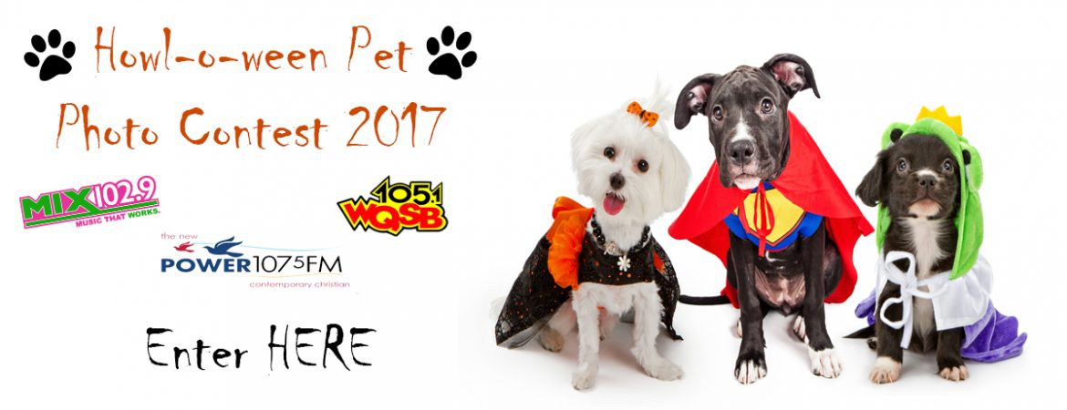 Howl-O-Ween Pet Photo Contest 2017