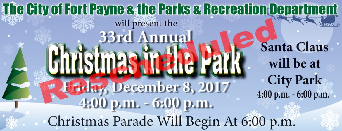 Christmas in the Park - Fort Payne