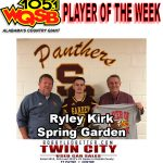 Player of the Week 11-9-20