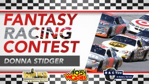 WQSB Fantasy Racing Contest Social Winner March 24, 2021