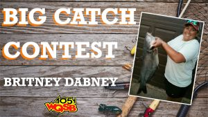 WQSB Big Catch Contest 2021 Winner May 12, 2021