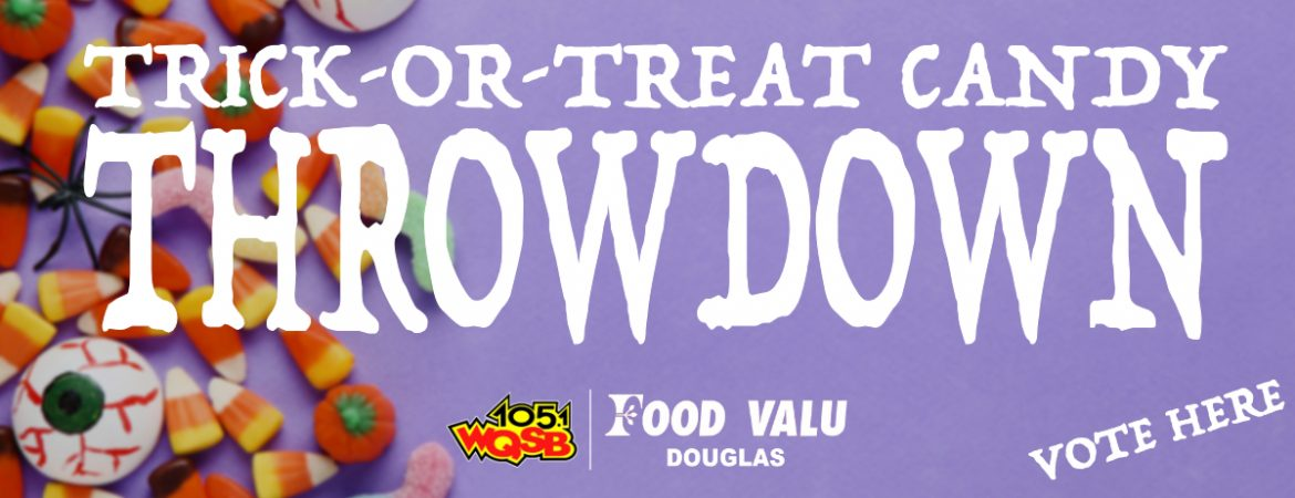 WQSB Trick-or-Treat Candy Throwdown
